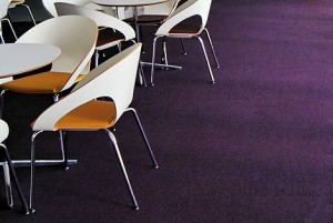 Carpet Tiles in a Canteen - Commercial Carpet Tiles